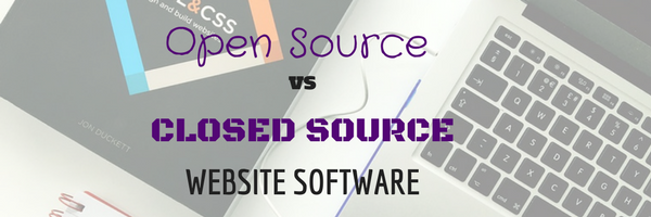 open source vs close source I use a lot of open source software in my daily life and outside of work i'm also a user of closed source (proprietary) software and am a big fan of certain pieces.